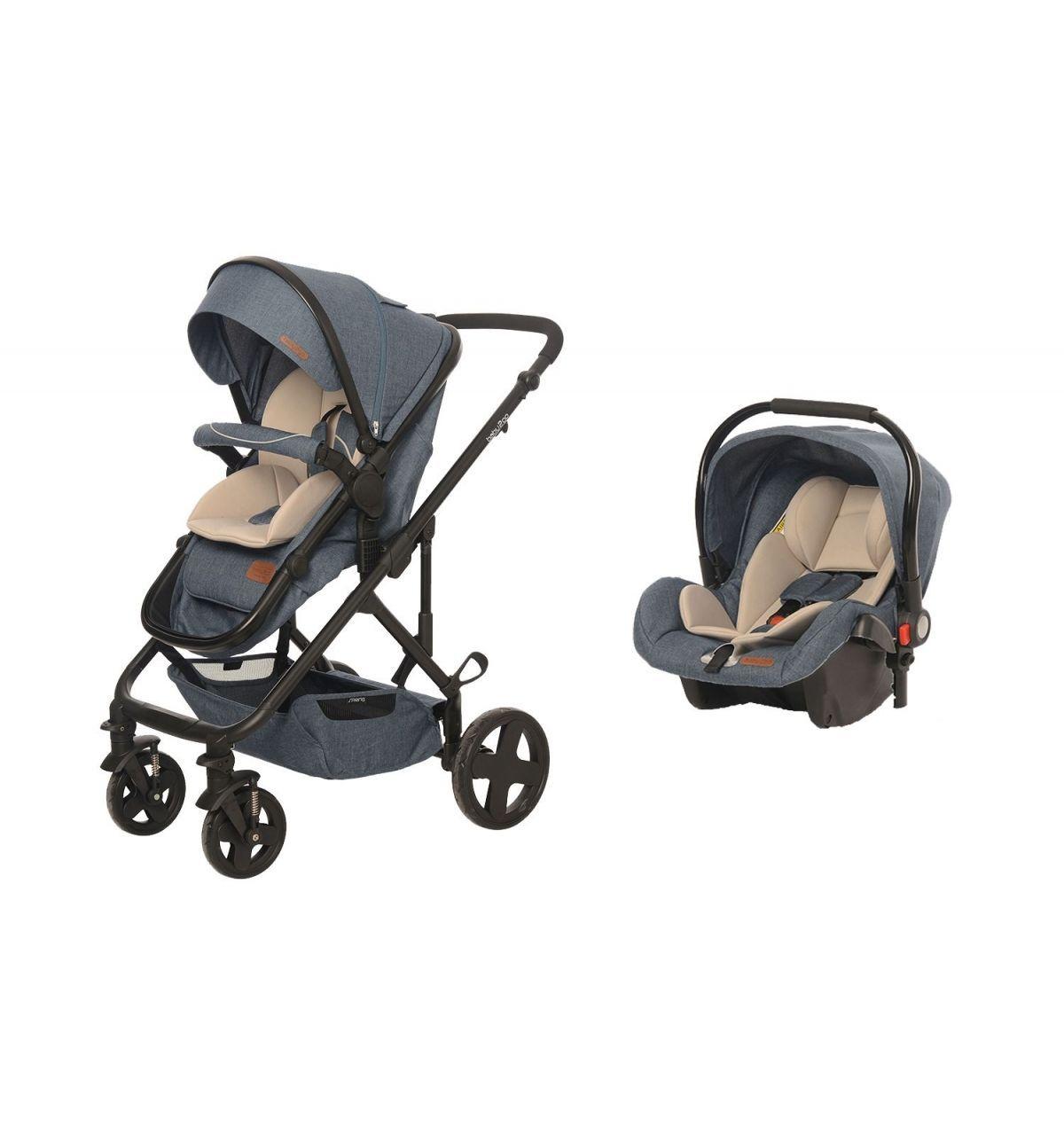 Baby2Go 8044 Spring Travel Sistem Bebek Arabası Jean