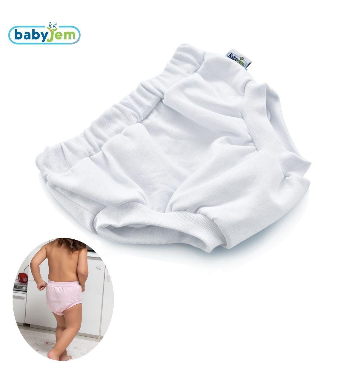 Babyjem Soft Alıştırma Külodu Beyaz 2Yaş