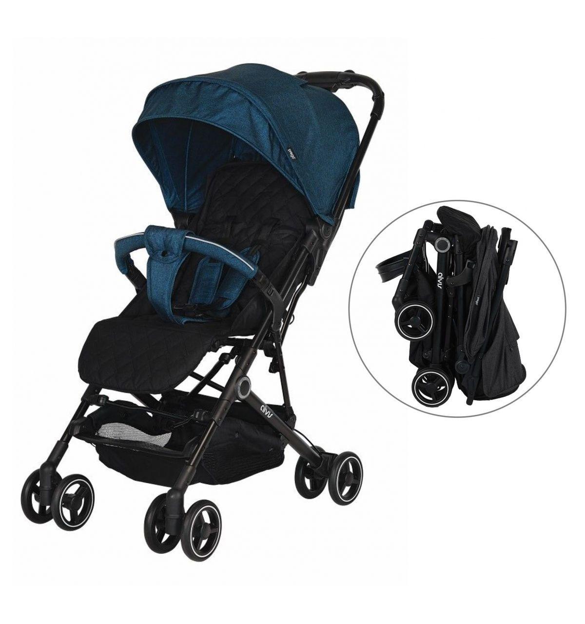 Prego 2035 Alvis Bebek Arabası Mavi