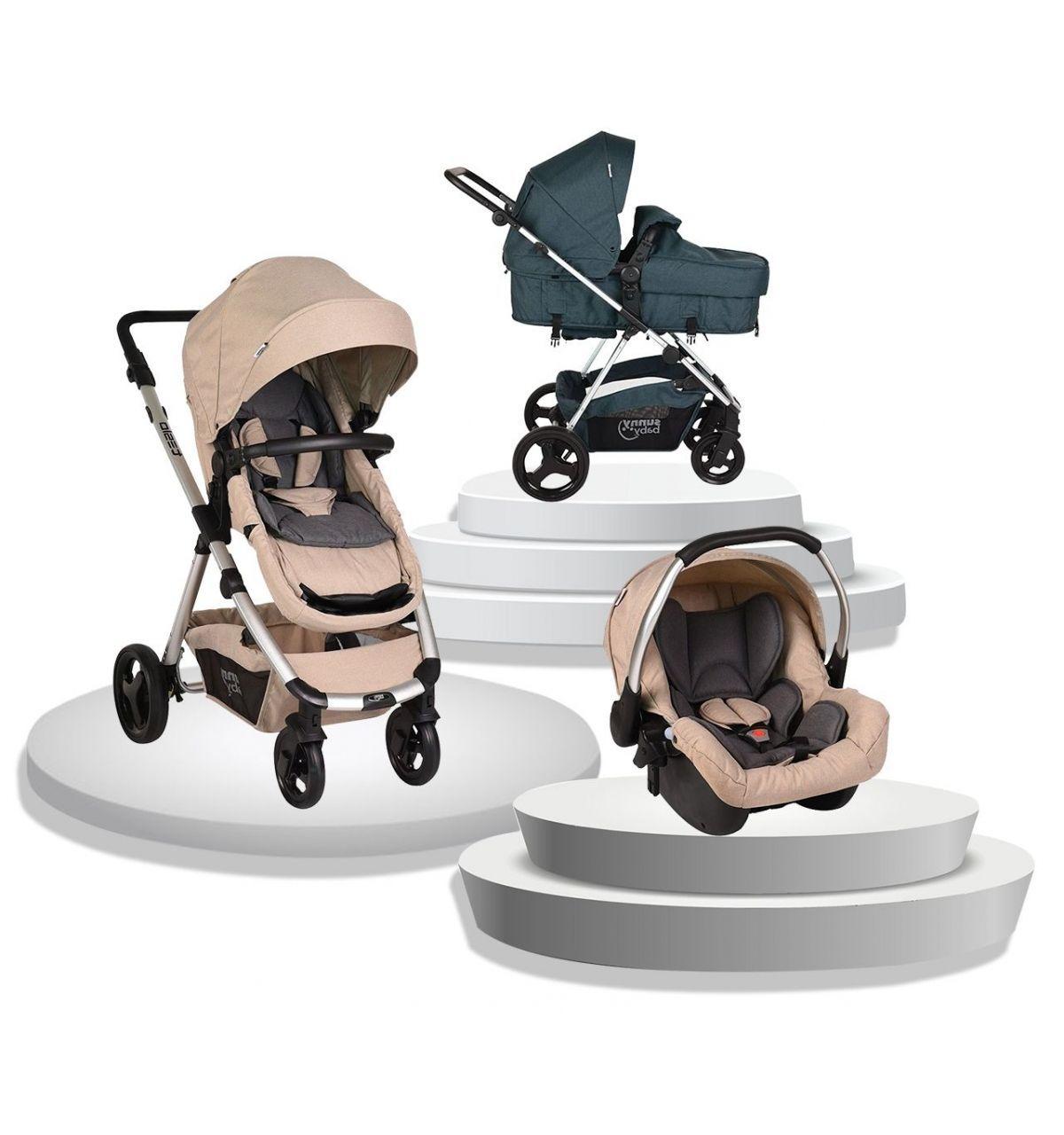 Sunny Baby Tesla Travel Sistem Bebek Arabası - Bej